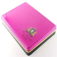 Hot Sell Home Appliance And Chocolate Storage Use Bulk Empty Metal Tin Square Box For Cake