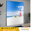 Power saving backlit poster frame fabric LED light boxes advertising for commercial places
