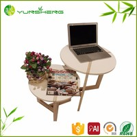 Special Style Pop Natural Bamboo Tea Table And Chairs Set