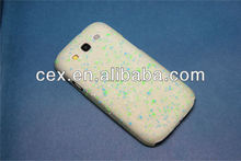 For Samsung Galaxy S3 i9300 New Arrival Ultra Thin Transparent Matte LED Flashing Light Up Snow Spot PC Plastic Case