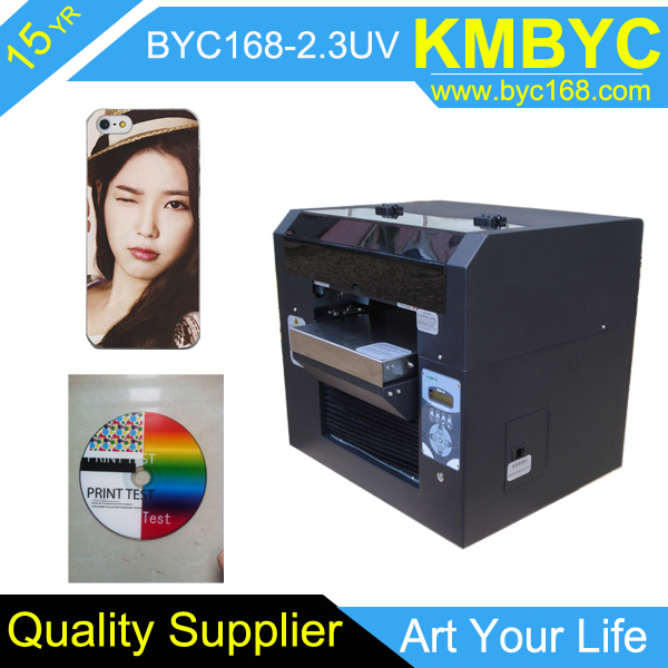 UV Flatbed Printer, UV LED Printer, suitable for any material to print BYC