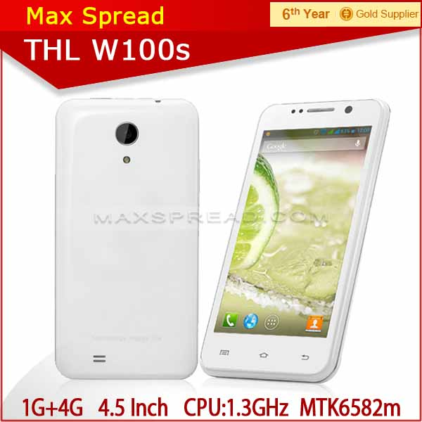 THL W100S MT6582M Android 3G GSM/WCDMA quad core china mobile phone