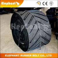 Anti-skid Ribbed Conveying Belts Price