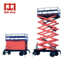 auto 3000 Order Quickly Movable Electric Mini Scissor ever manual used hydraulic car lift 2500