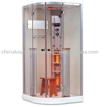2016 New Style computer controlled steam shower room hotsale sauna steam K063(with CE,TUV,EMC)