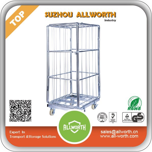 Cargo metal Steel Cage with wheels