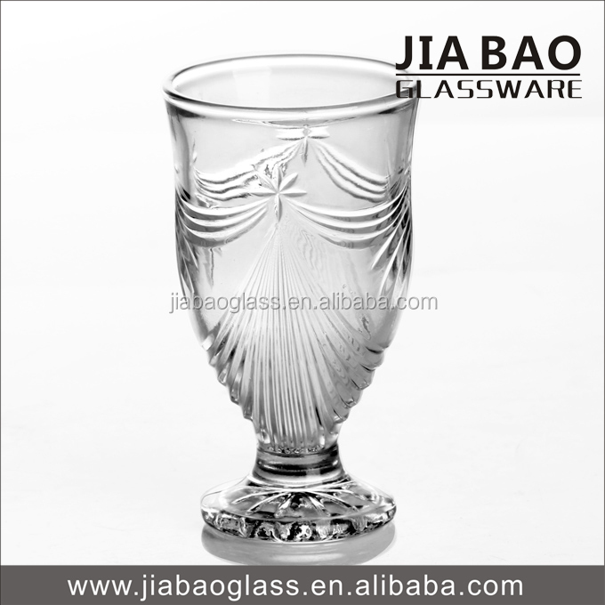 wholesale Arab water drinking glass Tall wine glass