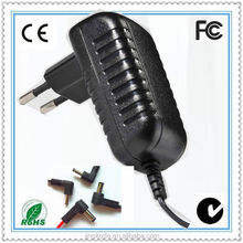one year warranty!! EU US UK AU wall plug charger 17v 1a