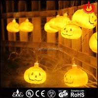 2016 new pumpkin led holiday string light for Halloween