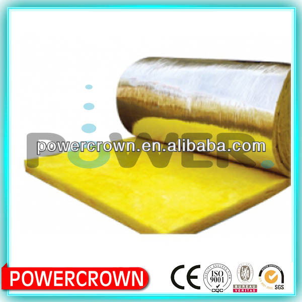 foil faced weight fiberglass wool batts insulation