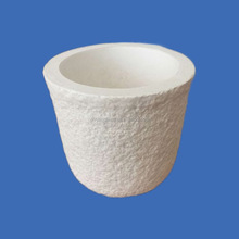 Ceramic products high purity High Temperature Corundum Mullite Ceramic Crucible