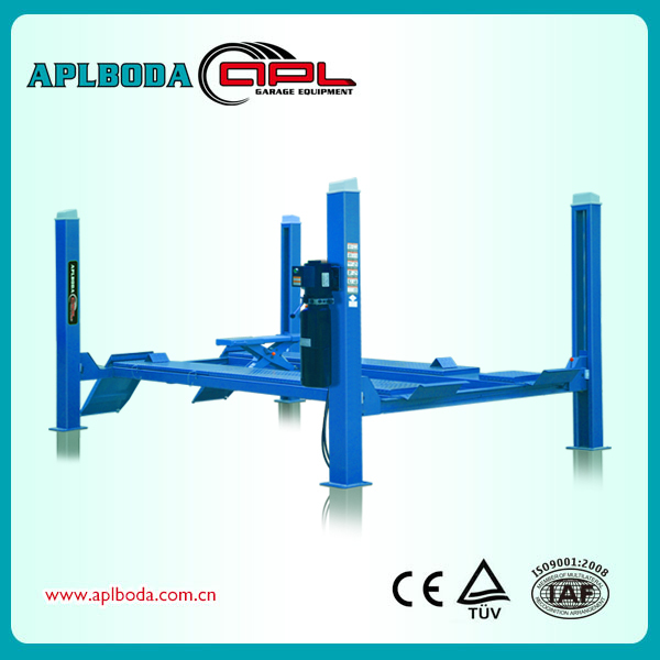 4 Post Car Lift 4Ton factory direct wholesale price FOR 3D ALIGNMENT