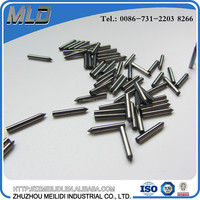 Dia.1.0-7.5 mm polished carbide pins with flat top or sharp tip
