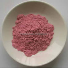 strawberry powder made of freeze dried strawberry, BRC, HACCP, ISO for Bakery, juice, icecream