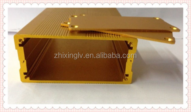 Custom Extruded Aluminum Enclosure For Electronics 76*35-100 Length Aluminum box/Aluminum Extrusion Box