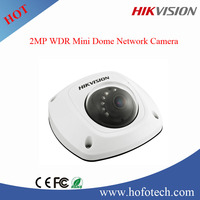 hikvision 2mp Vandal Proof ir Mini Dome cctv camera ip camera with POE