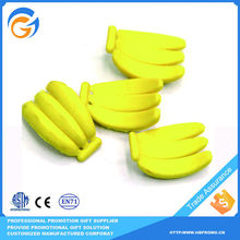 Banana Plastic Jumbo Eraser for Promotion