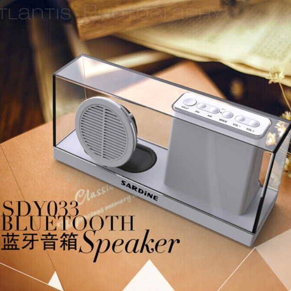 China Manufacture Bluetooth speaker with hidden LED display