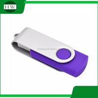 Promotional Wholesale Custom OEM Swivel USB Flash Drive with free sample