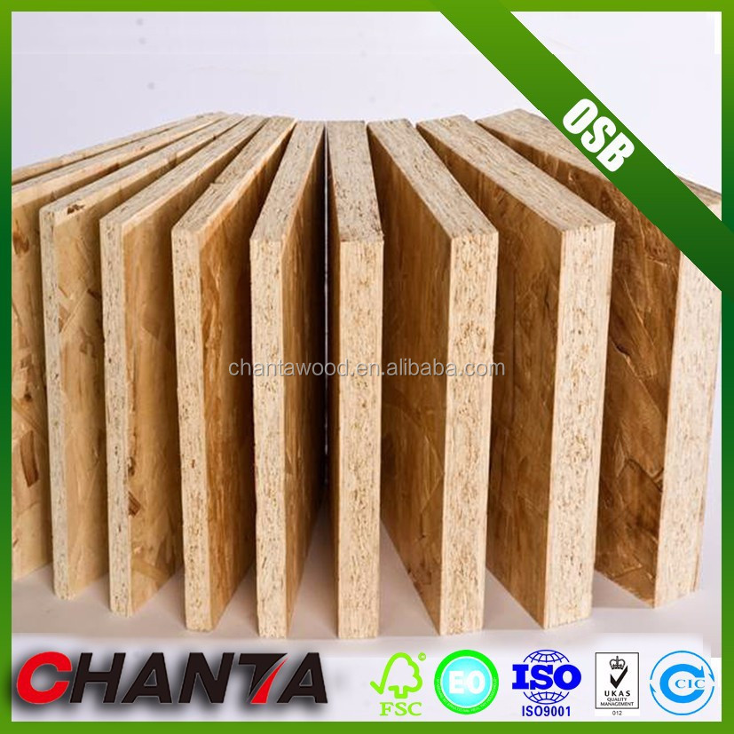 construction building material melamine particle board waterproof osb