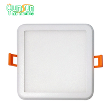 square led 6W 12W 18W ceiling recessed ultra-thin led recessed ceiling panel light