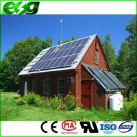 Best quality,with 85% high conversion ratio,home solar system for villa