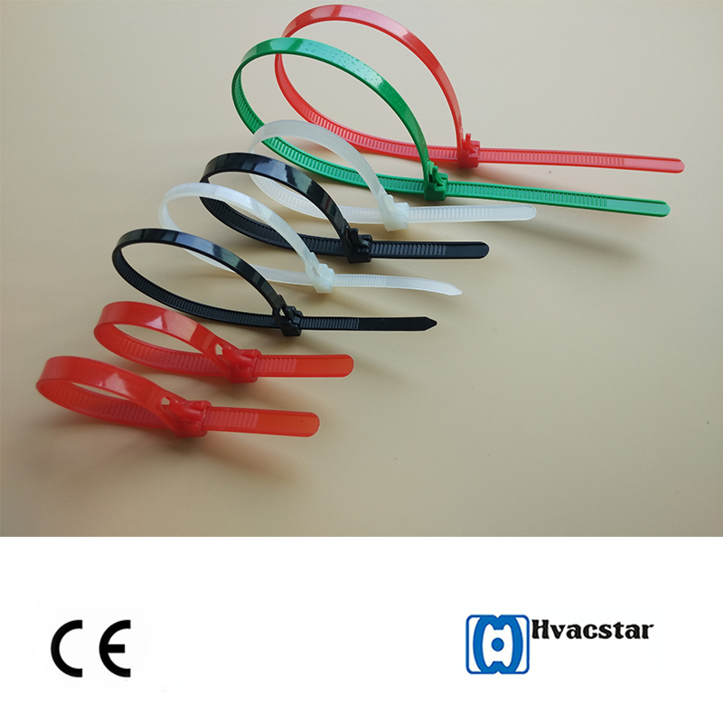 Easy to do it!Releasable Velcro Plastic cable ties