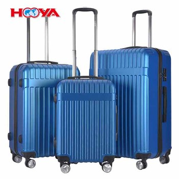 3Pcs ABS Trolley Suitcase Spinner w/ TSA Lock Luggage Travel Set