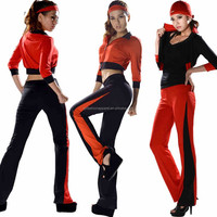 factory direct wholesale long sleeve tops sports pants gym clothing