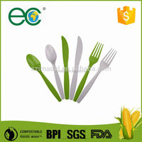 top quality eco friendly cpla cutlery for supermarket