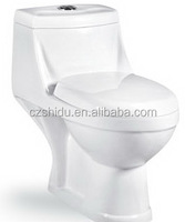 cheap ceramic siphonic/washdown one piece toilet