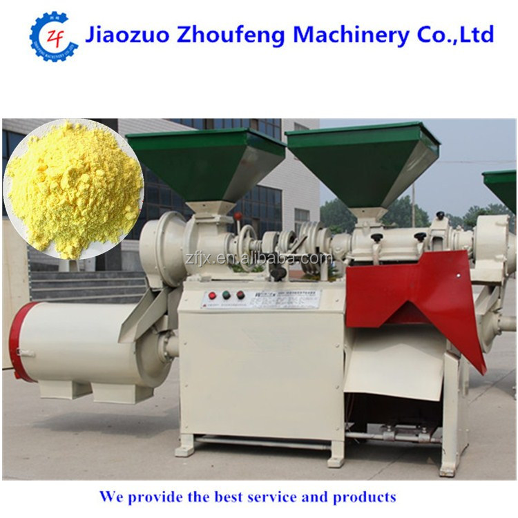 Wheat flour grits making peeling milling machine (whatsapp:138782789572)
