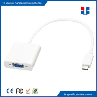 New premium usb 3.1 type c to vga adapter for Macbook