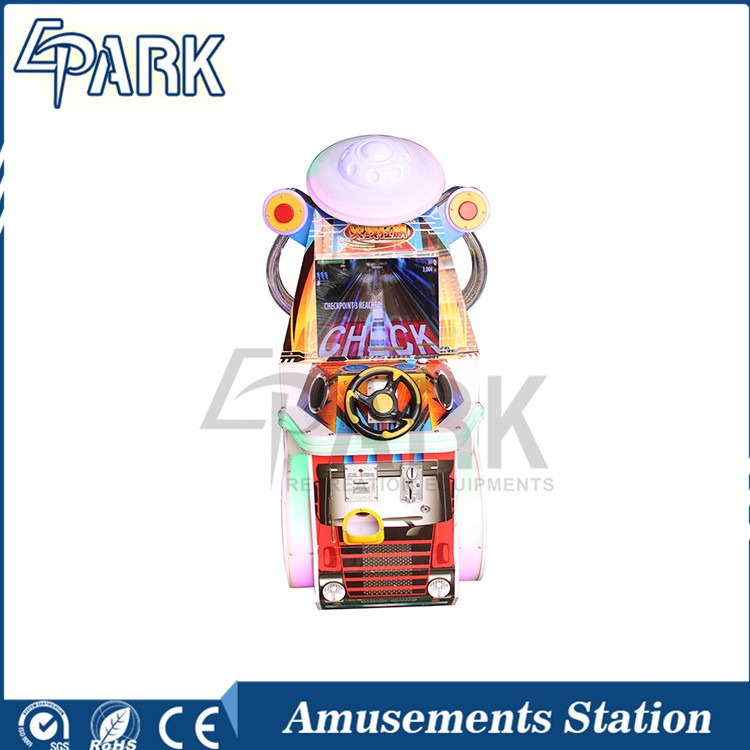 Coin Operated Deformation Racing amusement arcade racing game machine