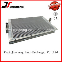 high performance vacuum brazed aluminum aie cooled radiator/cooler,brazed heat exchanger manufacturer/ manufacturer from china