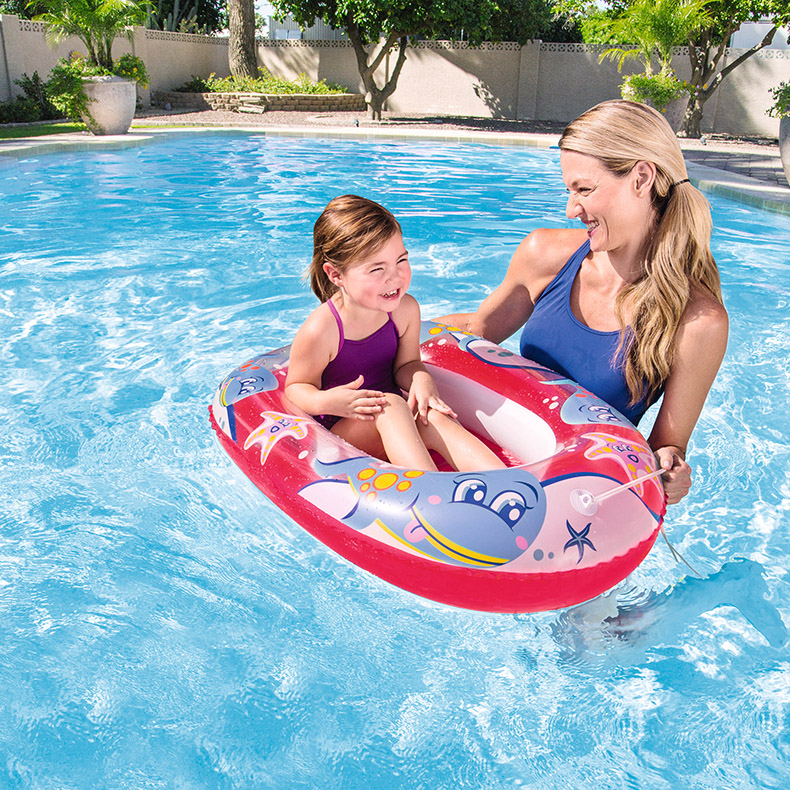 "Bestway 40"" x 27"" Kiddie Raft Inflatable toys inflatable floating raft"