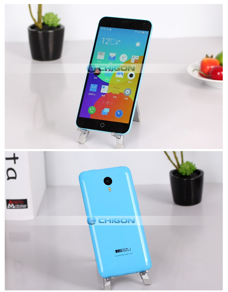 "In stock original Meizu M1 Note 4G FDD LTE Dual SIM Mobile Phone 5.5"" 1920X1080P MTK6752 Octa Core 13MP Android 4.4 Noblue Note"