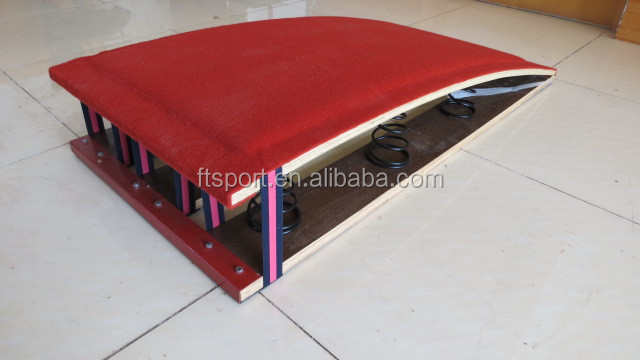 High quality spring board,gymnastic spring board/vaulting box for sale