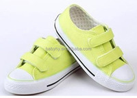 Kid fashion high heel sports rubber shoes