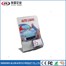 Factory Supply Custom Made Acrylic Insert Paper poster Frame