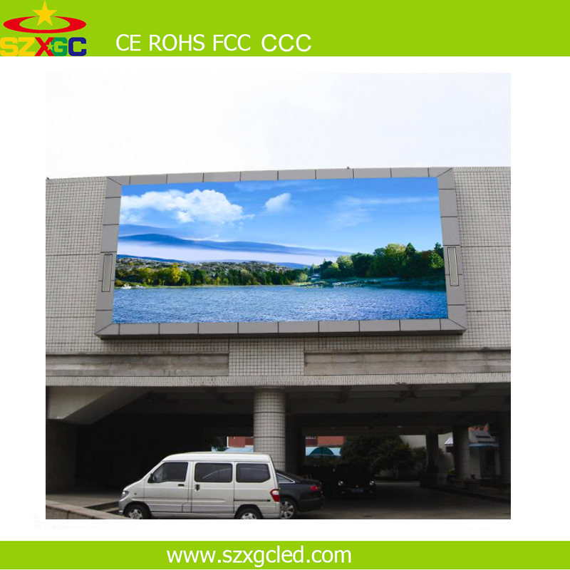 outdoor p8mm Waterproof SMD hanging LED video wall High Brightness 15625 dots / sqm