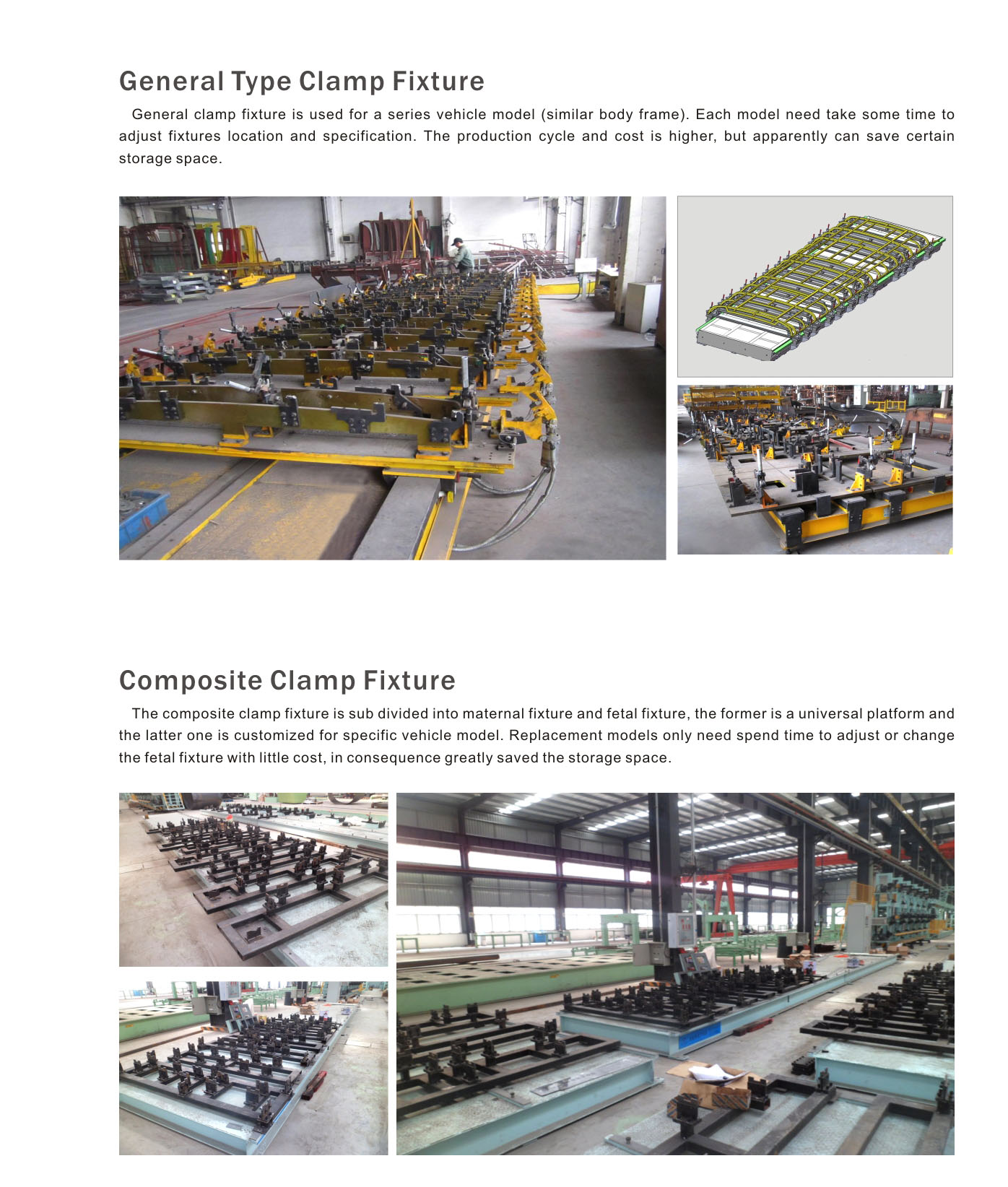Automobile Production Fixtures and Equipment Congregation