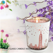 Laser carving and processing glass candlestick crafts