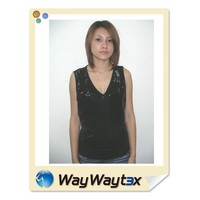 OEM Service spandex sexy style woman beads lace top