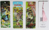 Guangzhou 3D new arrival 3d hand make whole sale lenticular bookmarks