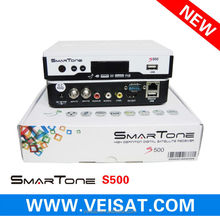 2014 new receiver smartone s500 support free iks+sks+twin tuner