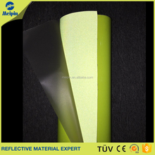 Hot Sale High Visible Reflective PU Leather Fabric for Shoes