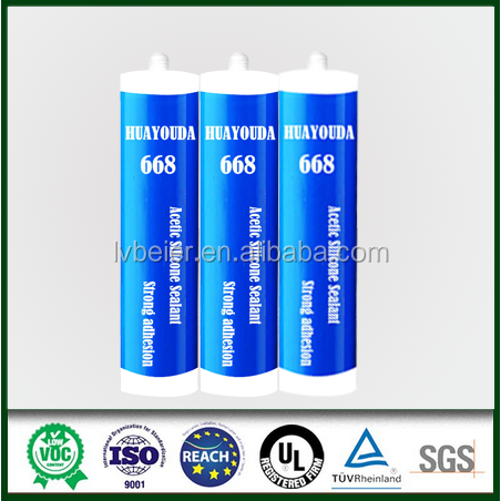 Strong adhesion aquarium 100% silicone sealant