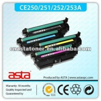 CE250/1/2/3A Color Toner Cartridge for HP 3525
