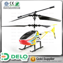 educational toy 3.5CH Diecast big size rc helicopter toys for kids DE0198003
